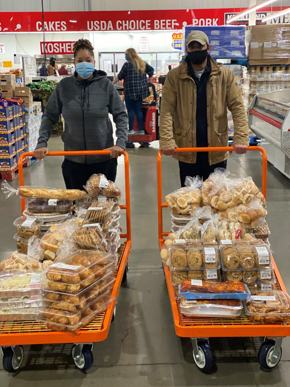 Annual Costco Trip for MyPlace and MDH Clients