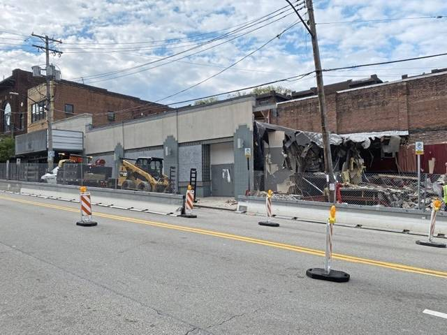 Squirrel Hill Theater Demolition