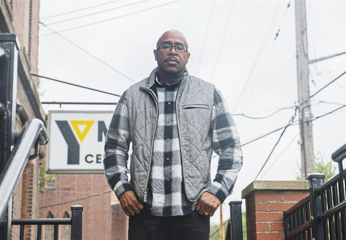 YMCA of Greater Pittsburgh Regional Director, Aaron Gibson