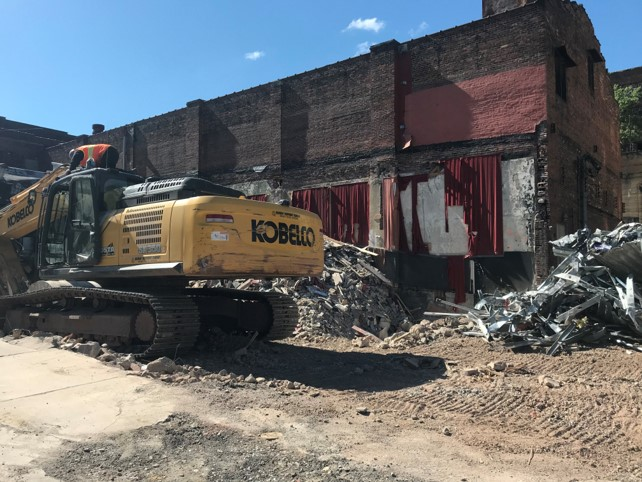 Demolition of the Squirrel Hill Theater