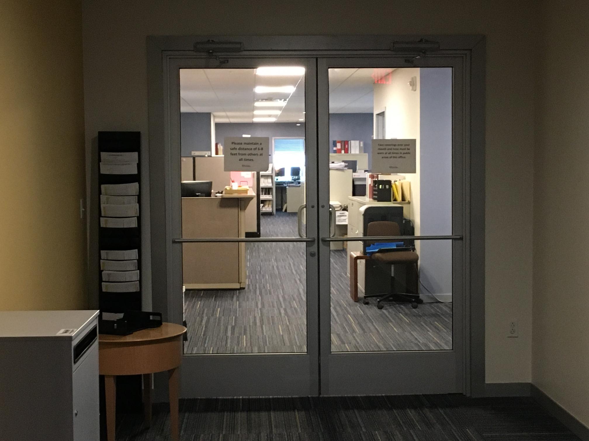 Accounting Entrance Doors
